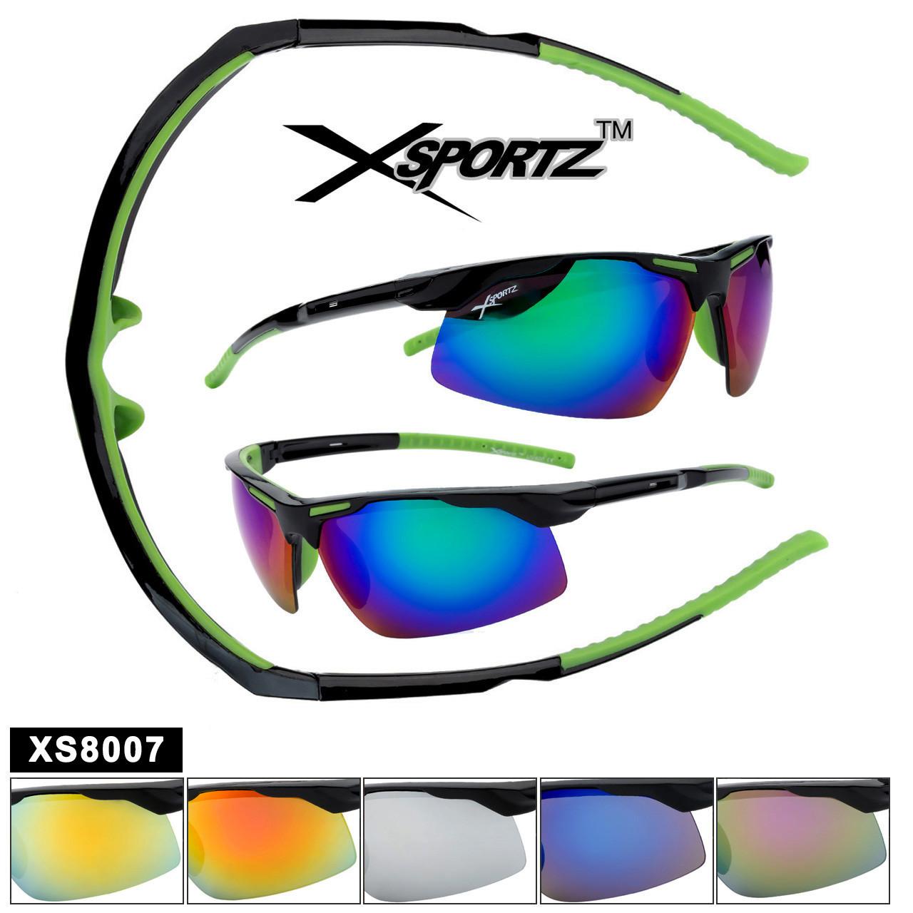 Xsportz™ Wrap-Around Sports Sunglasses XS8007