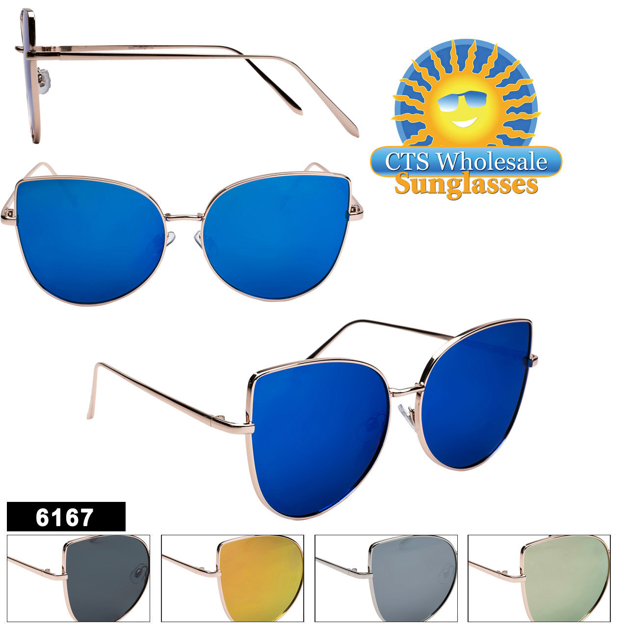 Fashion Sunglasses in Bulk  - Style #6167