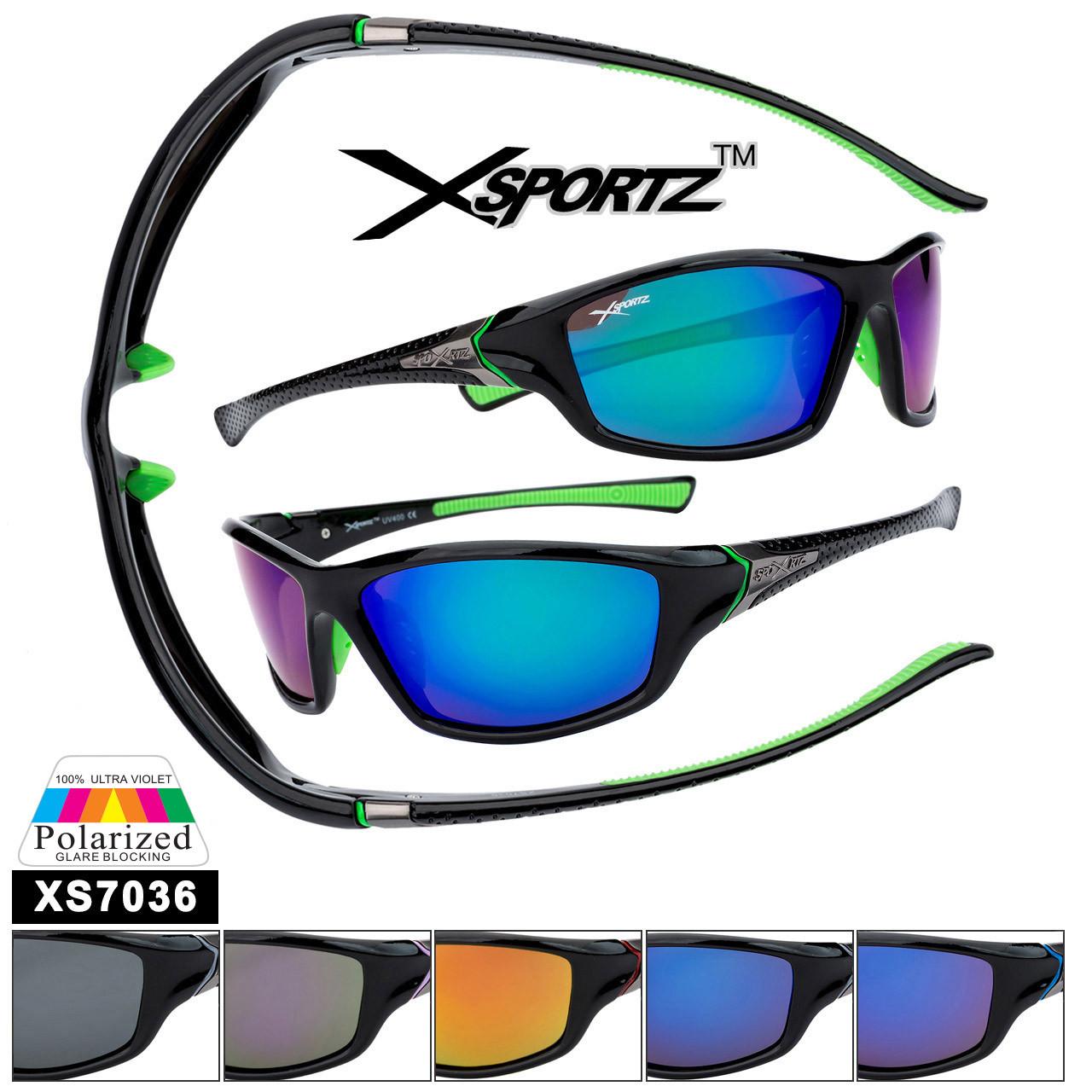 Bulk Polarized Xsportz™ Sports Sunglasses XS7036