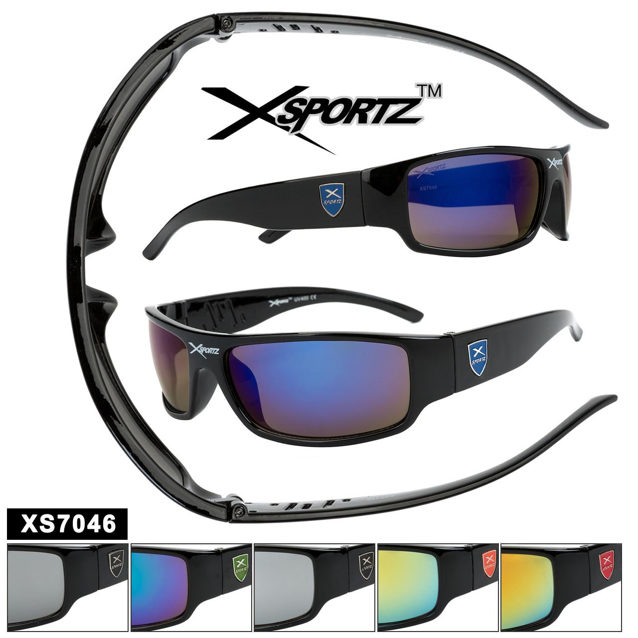 Sports Sunglasses by the Dozen - Style XS7046