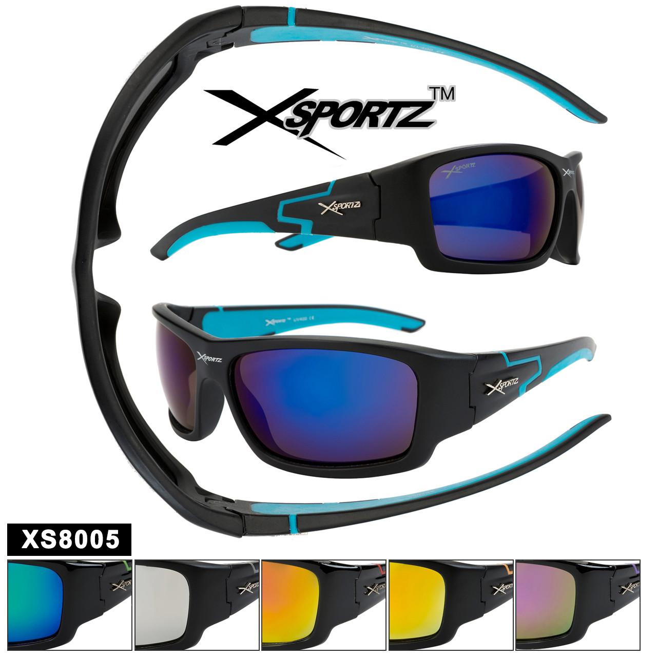 Xsportz™ Sports Sunglasses by the Dozen - Style XS8005