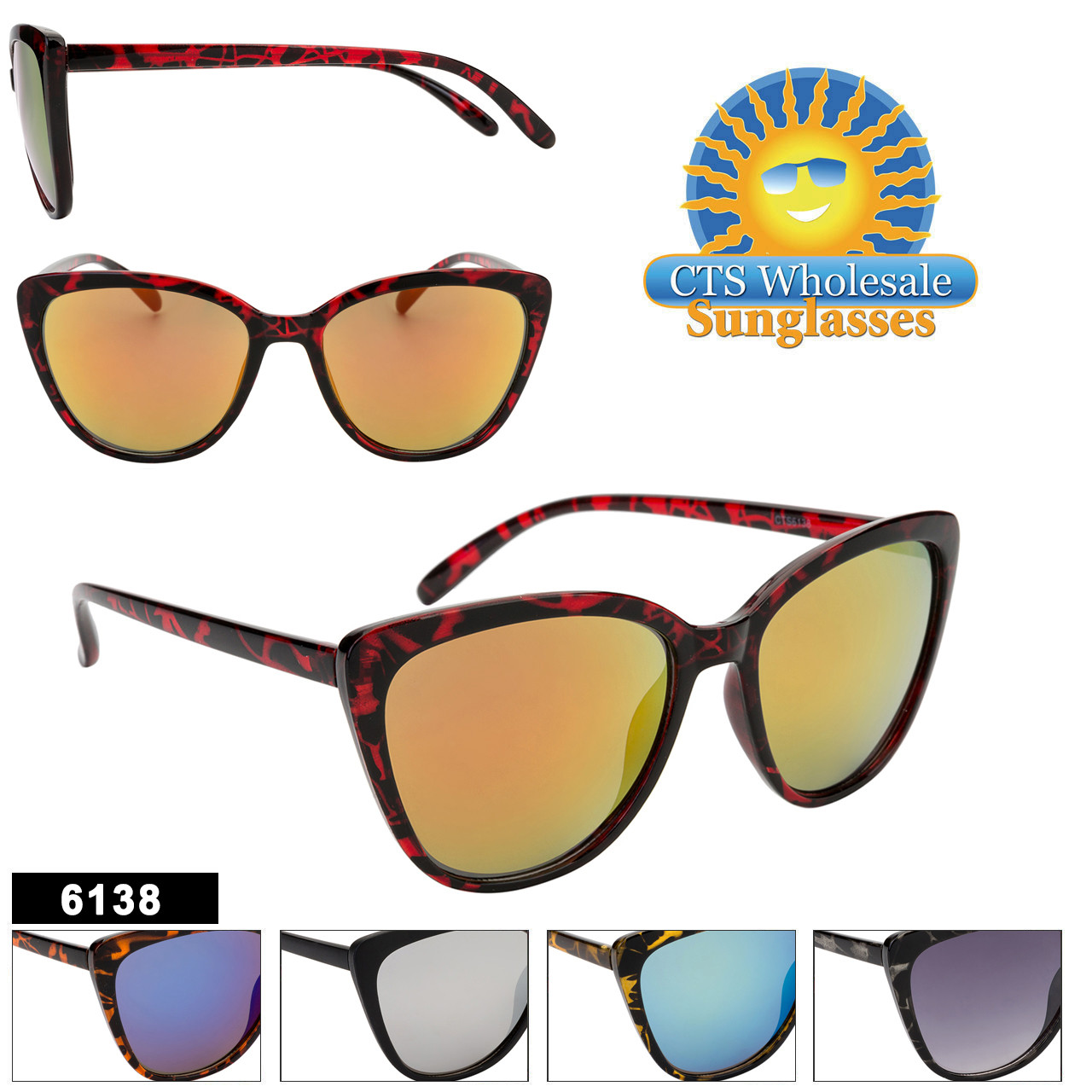 Fashion Sunglasses Wholesale - Style #6138