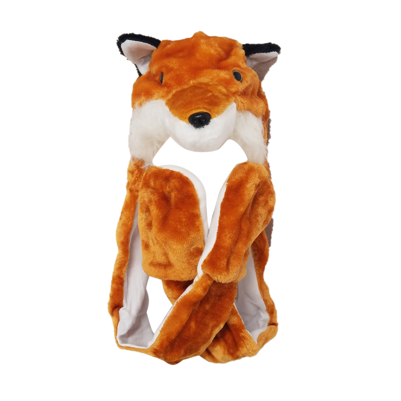 dc49895784c Fox animal hat a long arms with mittens wholesale llc jpg 1280x1280 Fox  animal hat