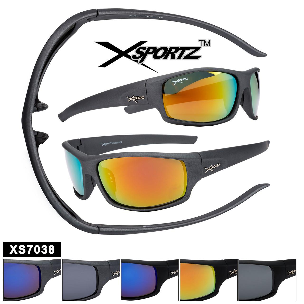 Bulk Polarized Xsportz™ Sports Sunglasses XS7038