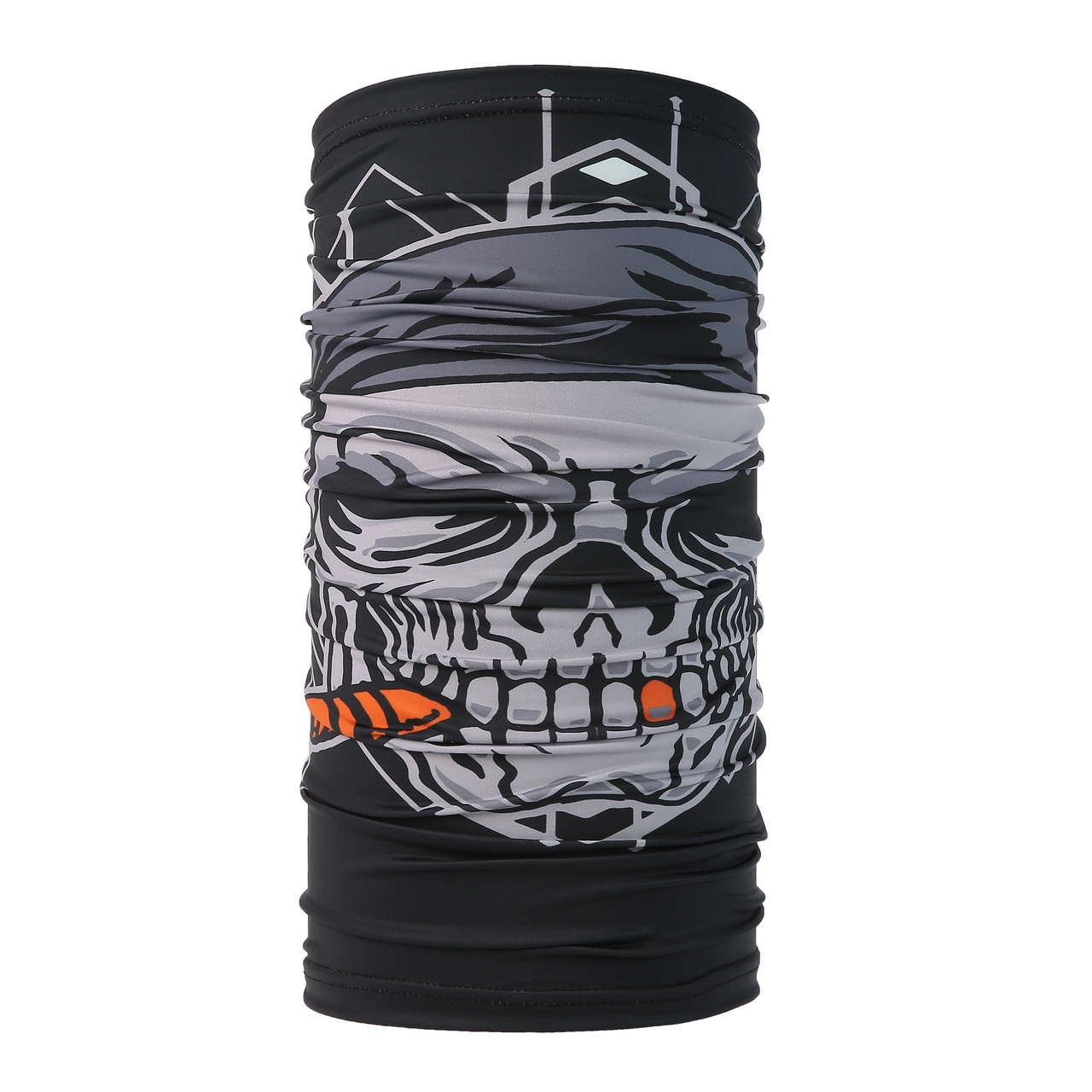 Smoking Skull Design Face Mask UV Protective (6 pcs.)