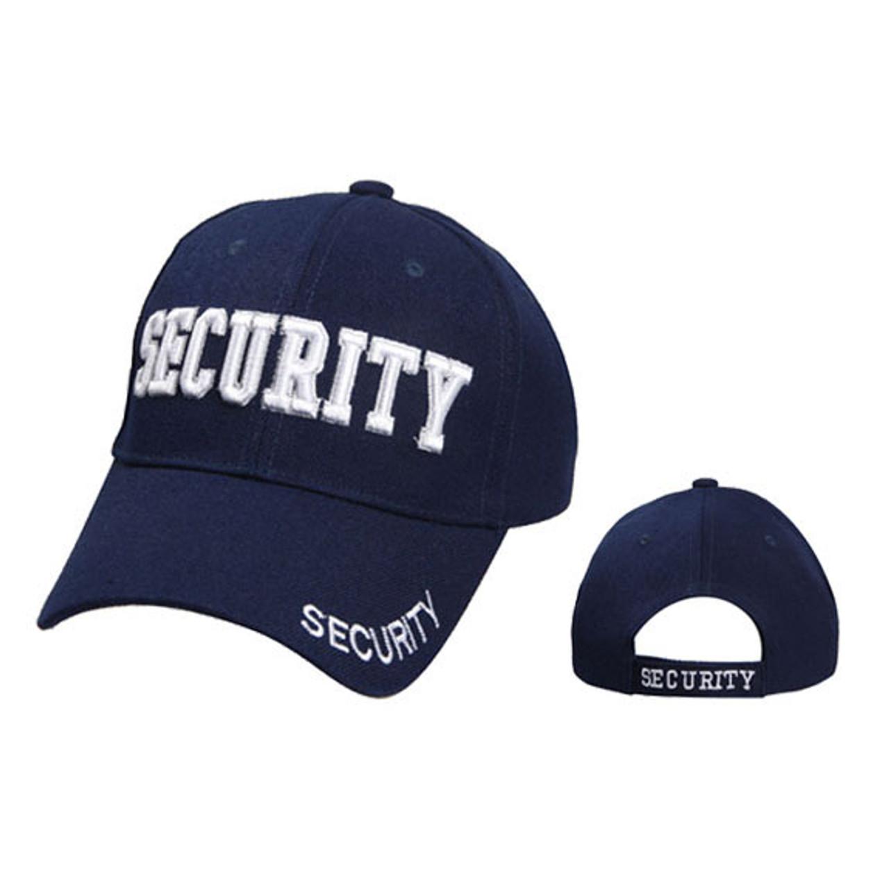 Wholesale Baseball Cap   Security   Navy Blue