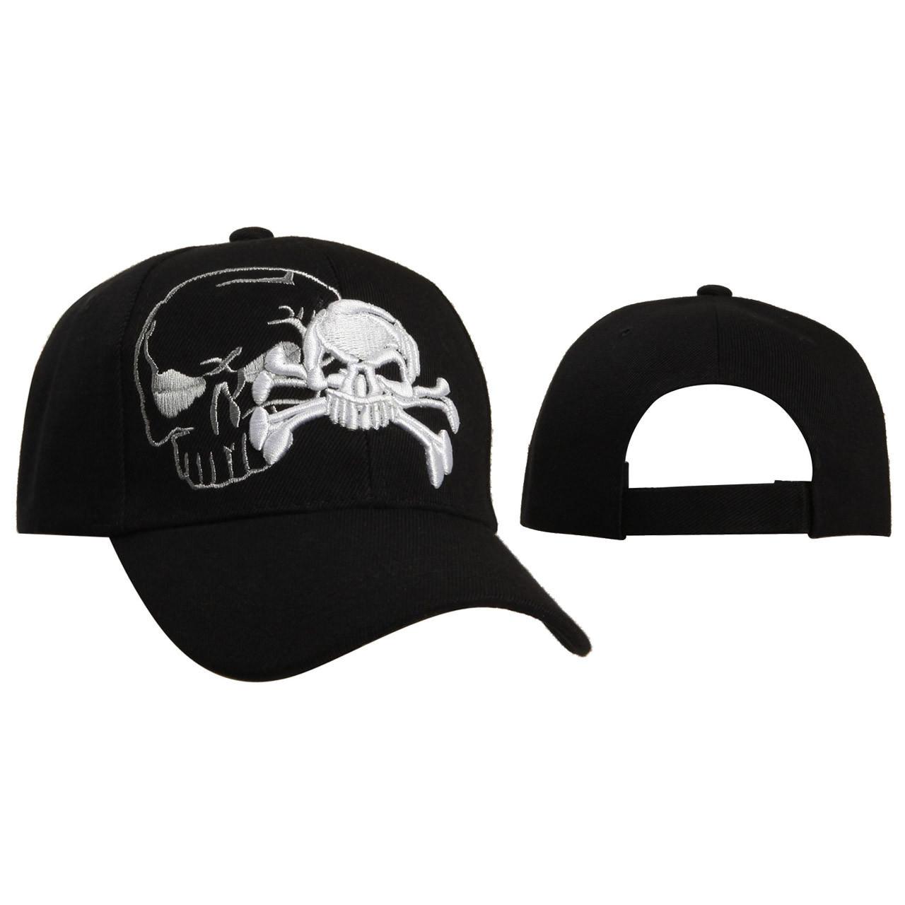 Baseball Caps Wholesale C5209 Skull   Cross Bones 704730a5a83