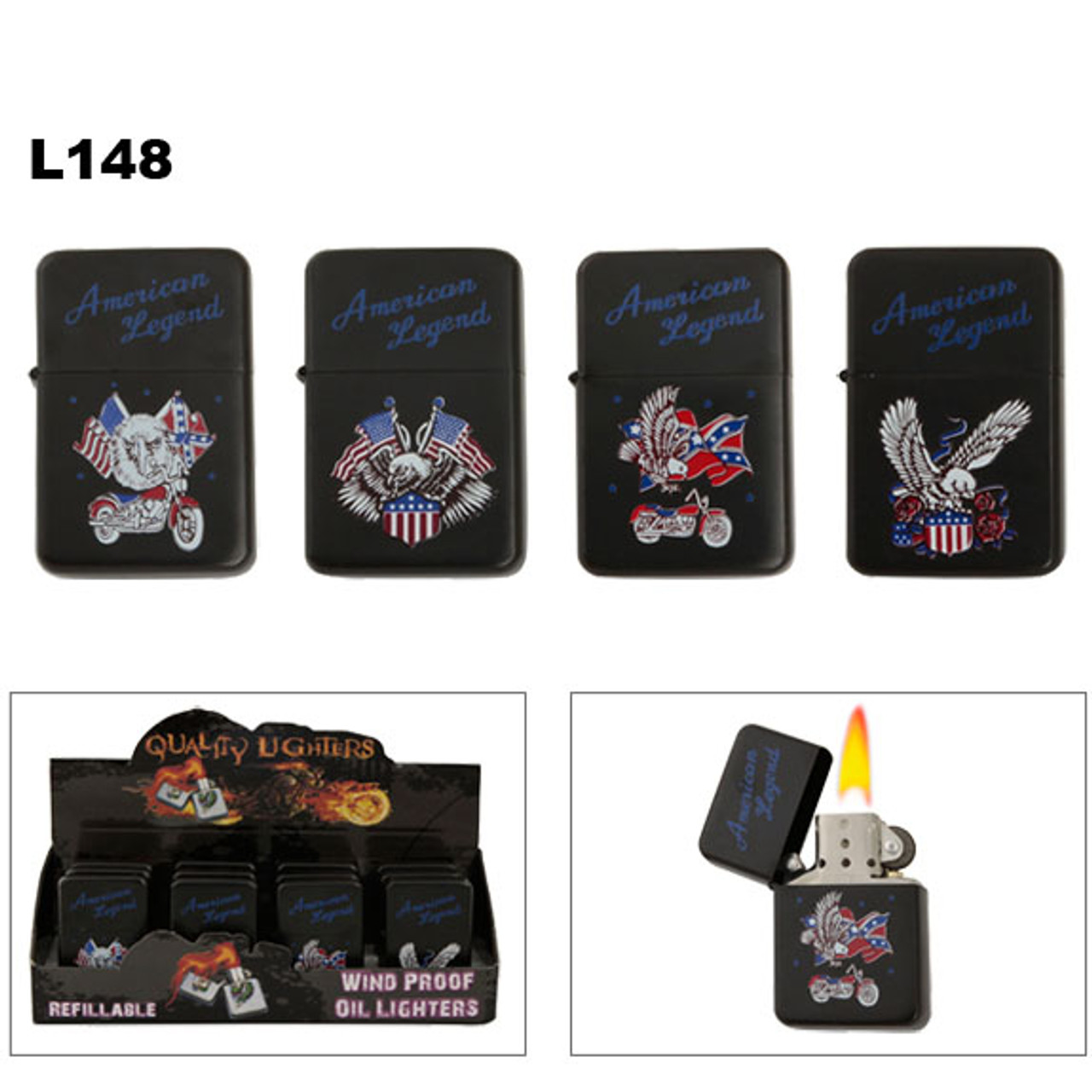 American Legend Oil Lighters Wholesale