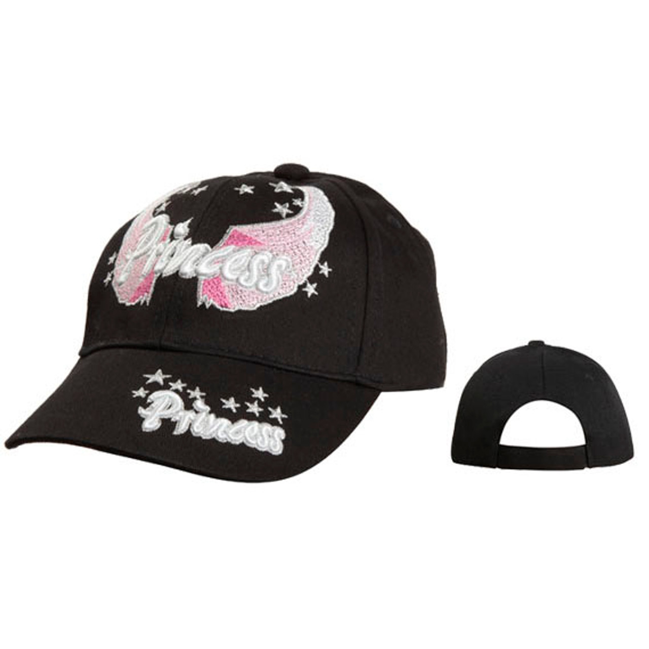 Black Princess Juniors Hat Wholesale