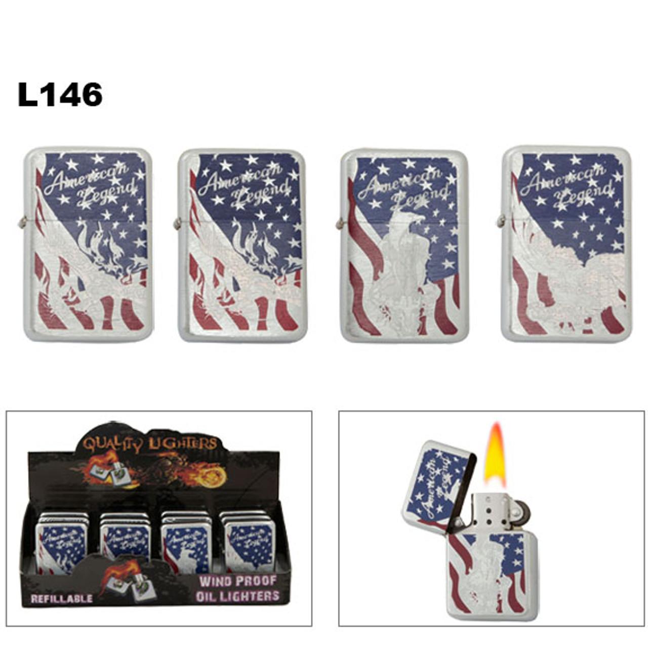 Oil Wholesale American Legend Lighters