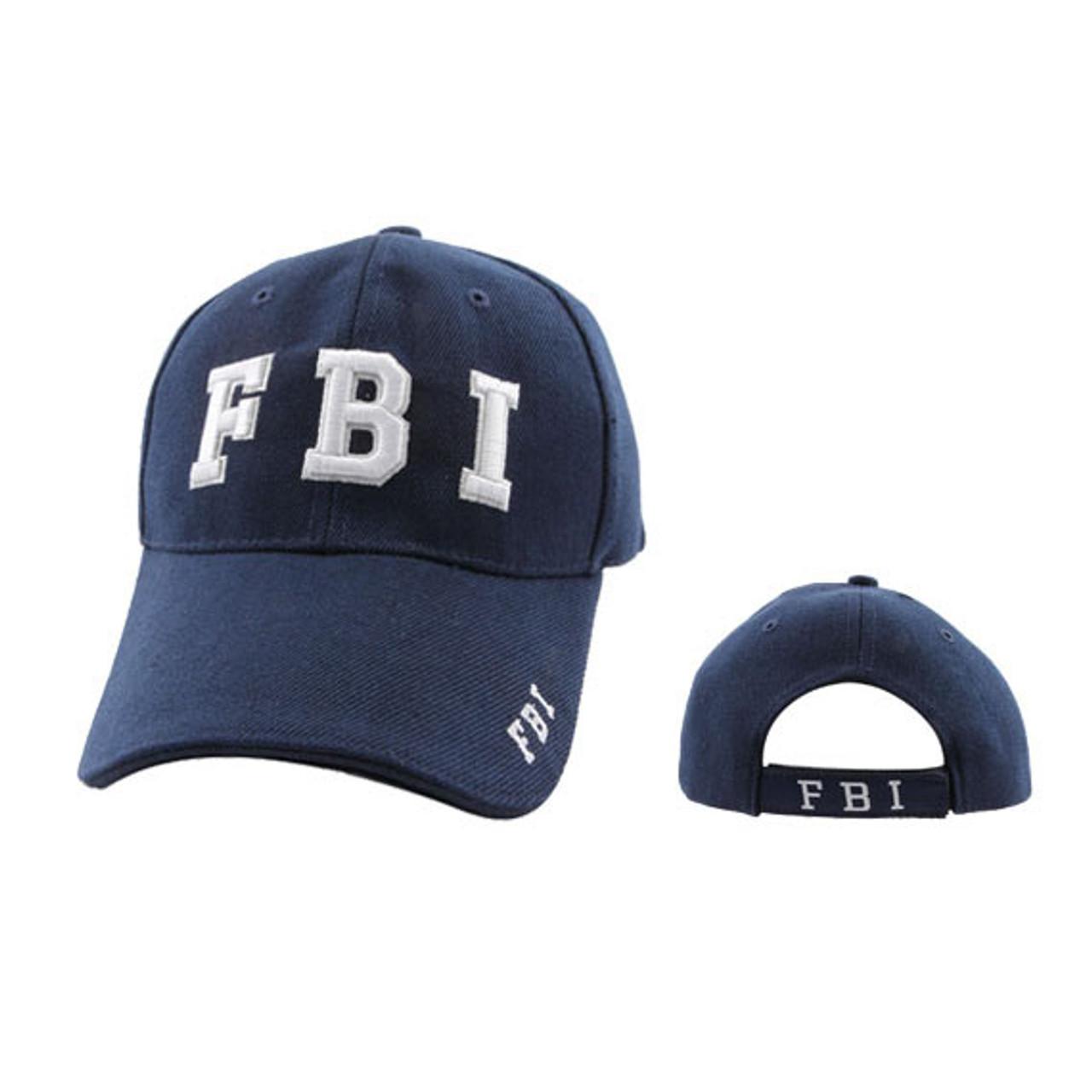 FBI Baseball Hat Wholesale-Blue