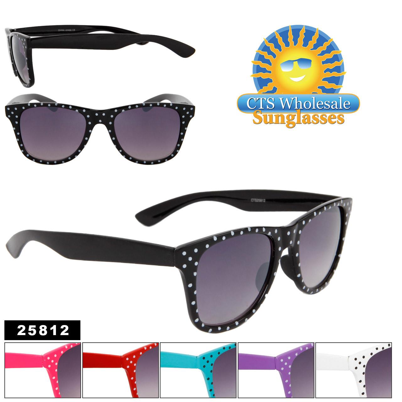 New Polka Dot Wayfarer Sunglasses! Item 25812