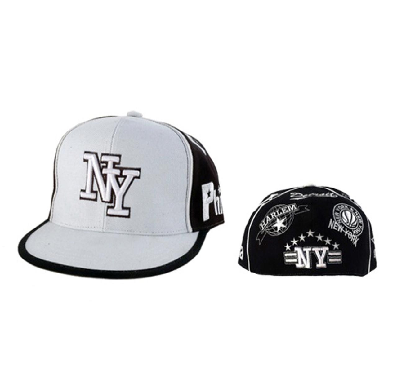 NY Fitted Baseball Cap
