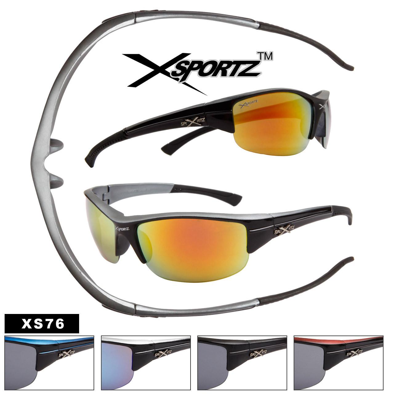 Xsportz™ Men's Sports Sunglasses Wholesale - Style # XS76