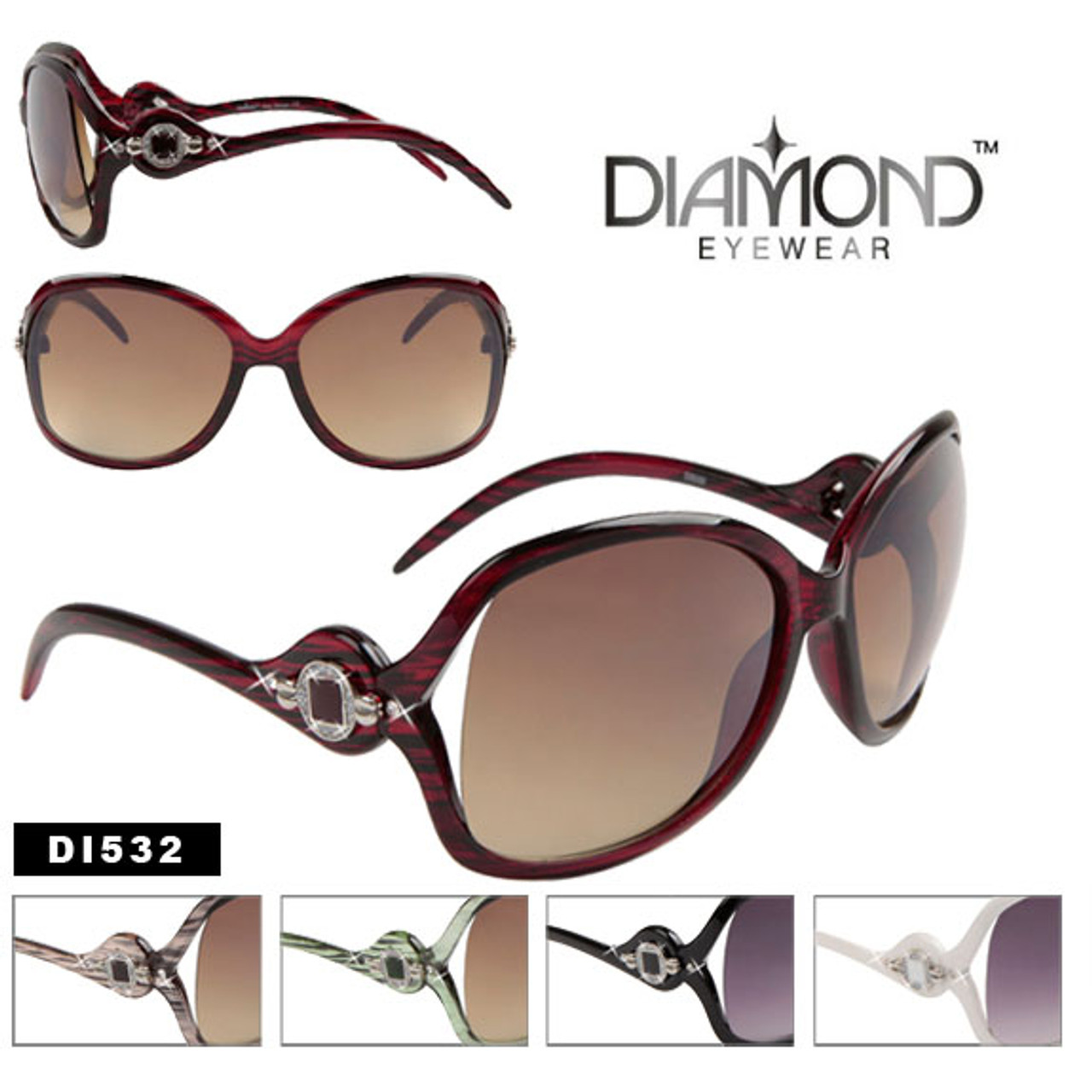 Rhinestone Diamond Eyewear Sunglasses