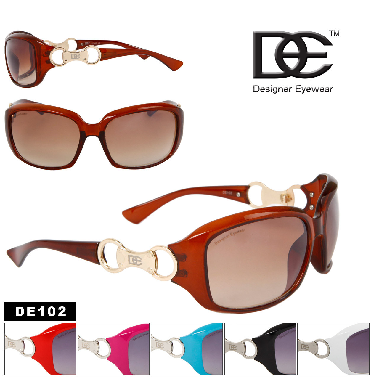 DE102 Women's Wholesale Fashion Sunglasses