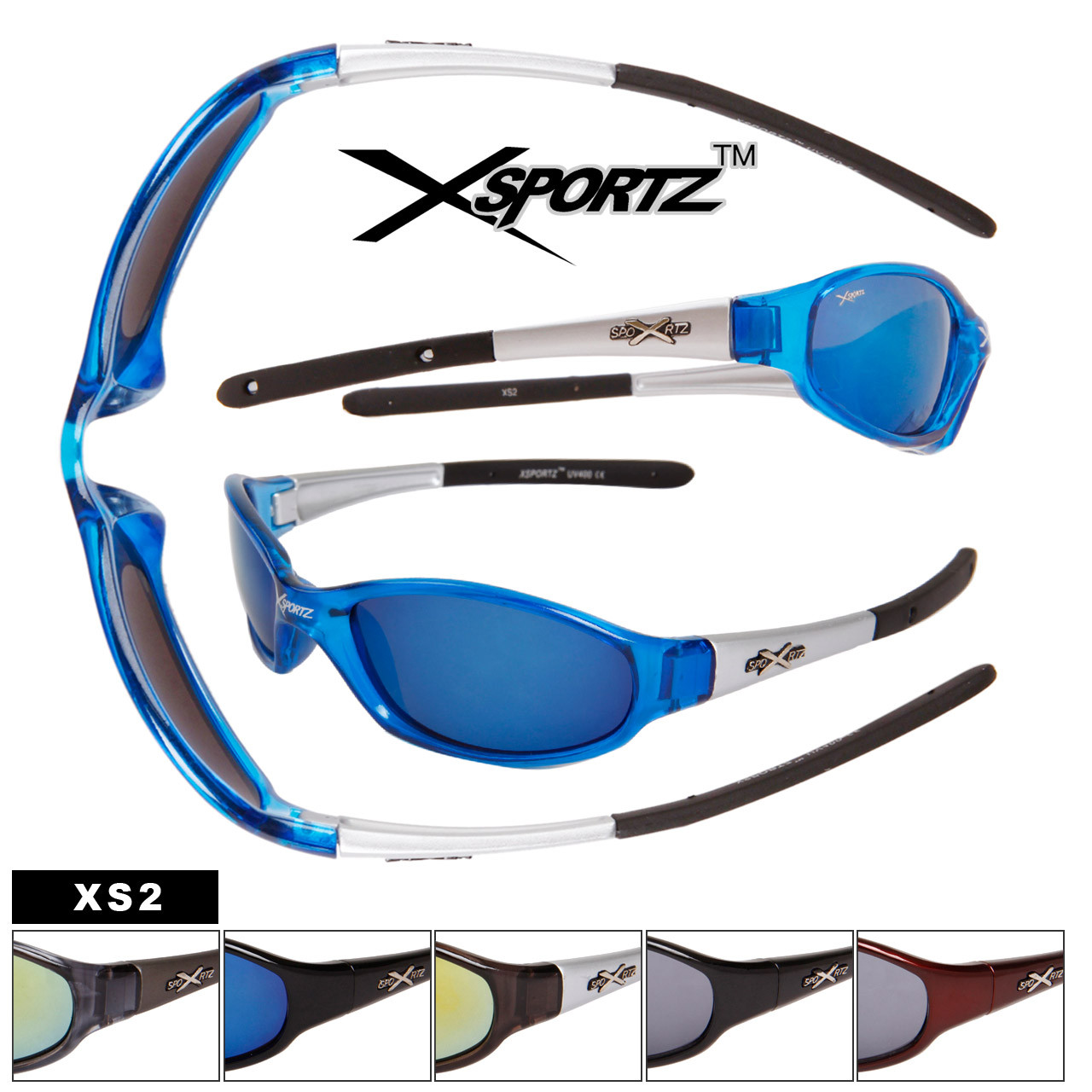 XS2 Men's Sports Sunglasses