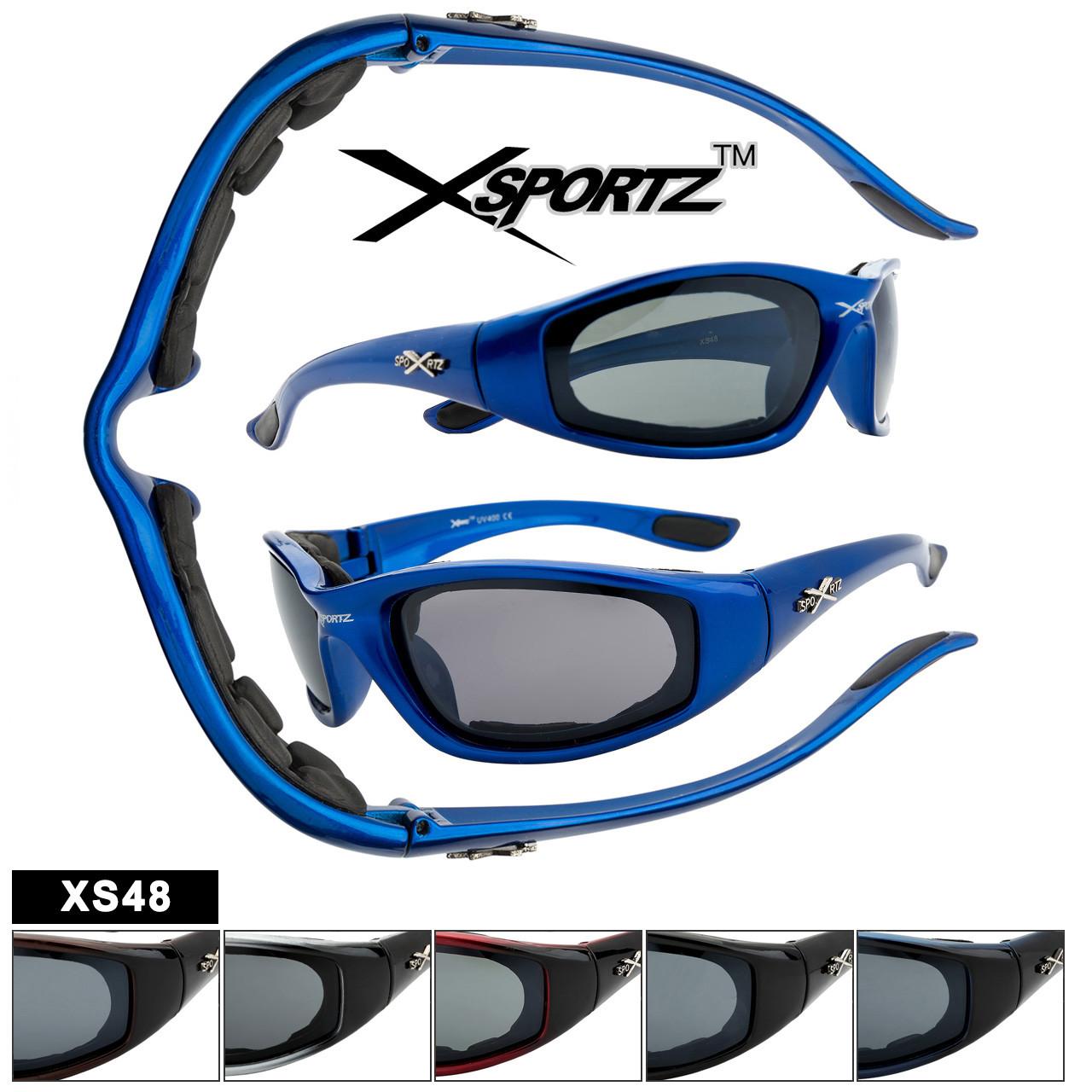 Foam Padded Sport Sunglasses XS48