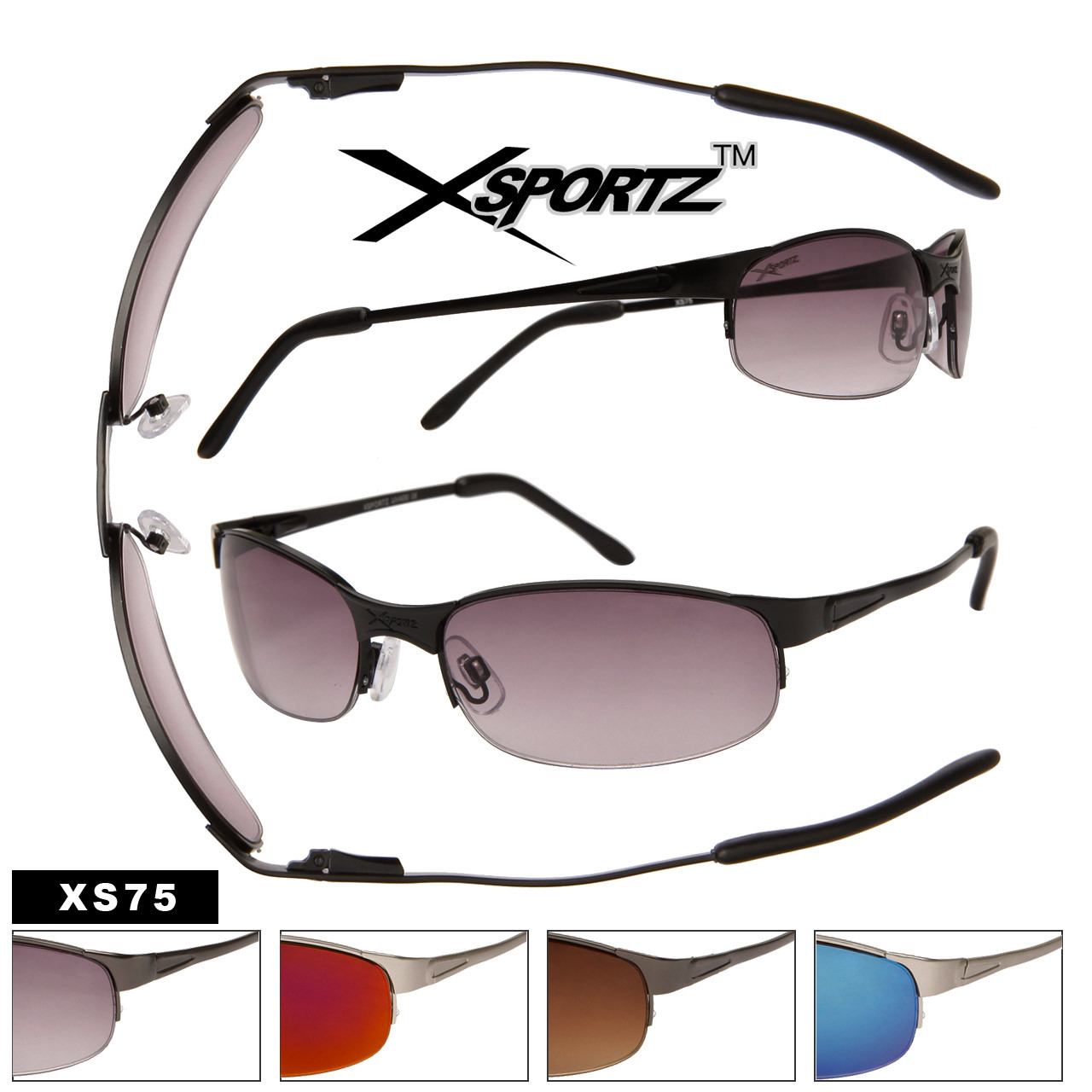 Spring Hinge Sports Sunglasses XS75