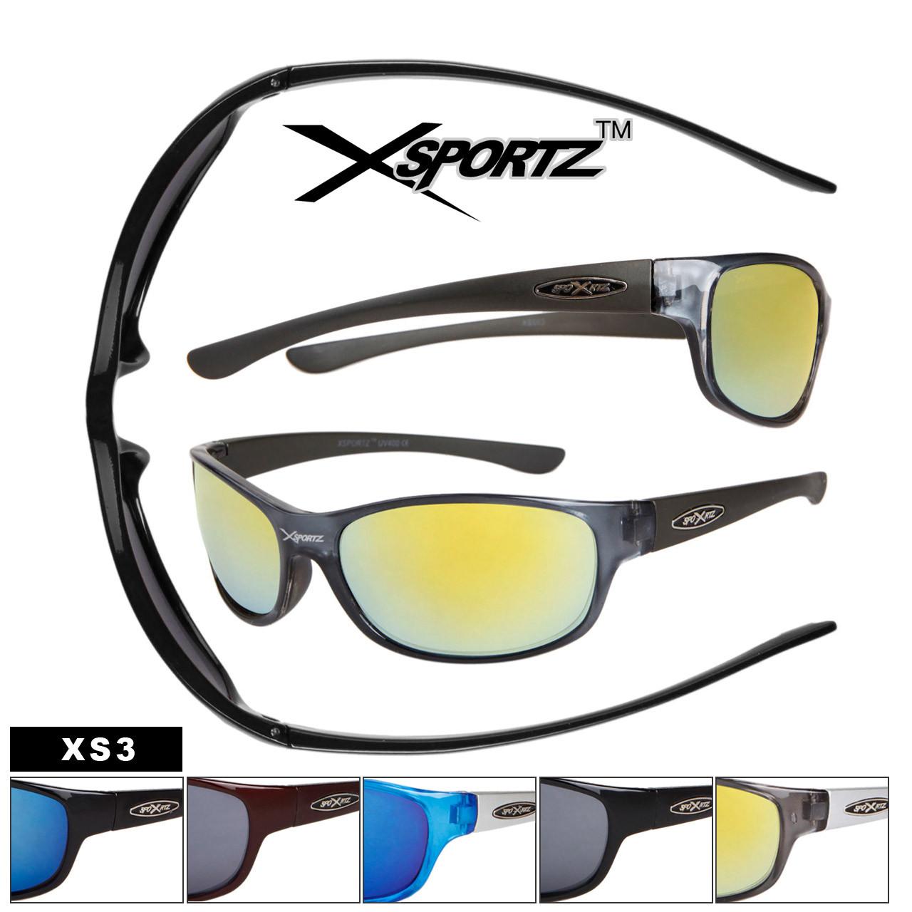 XS3 Sports Sunglasses Wholesale