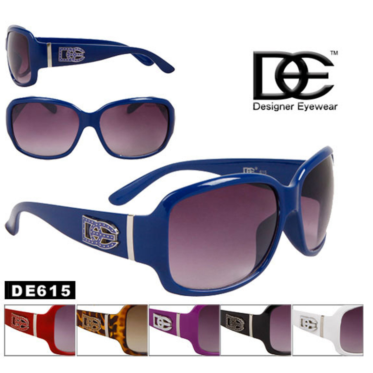 DE Designer Eyewear Fashion Sunglasses DE615
