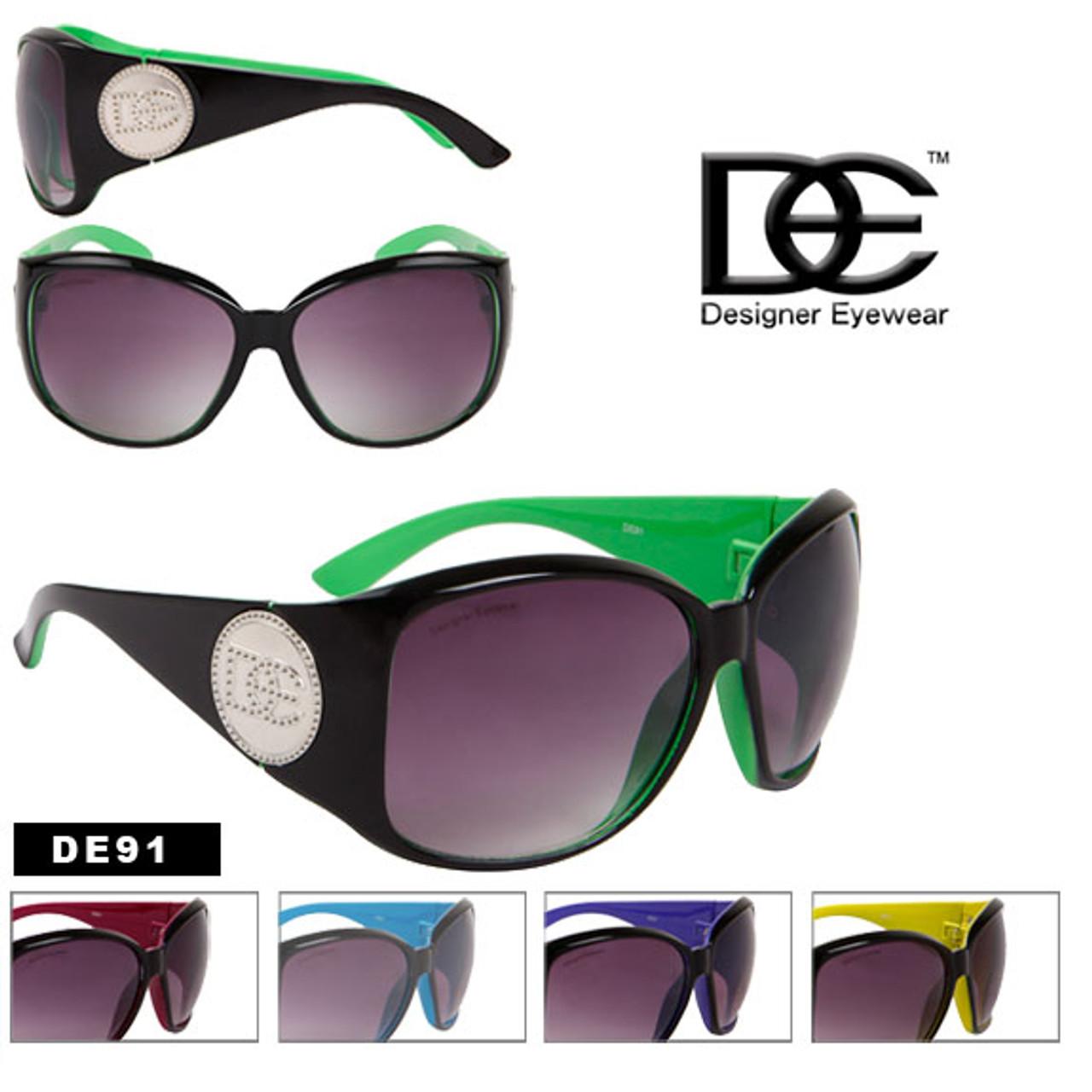 Big Lens Wholesale Fashion DE Sunglasses