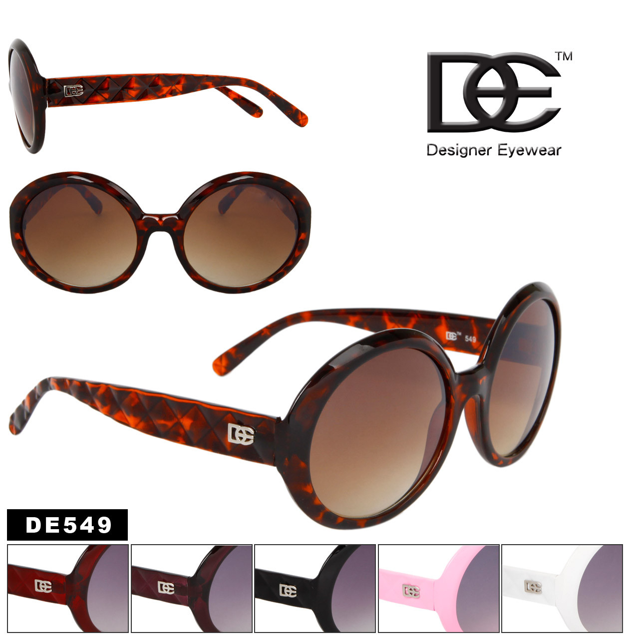 DE549 Vintage Women's Sunglasses
