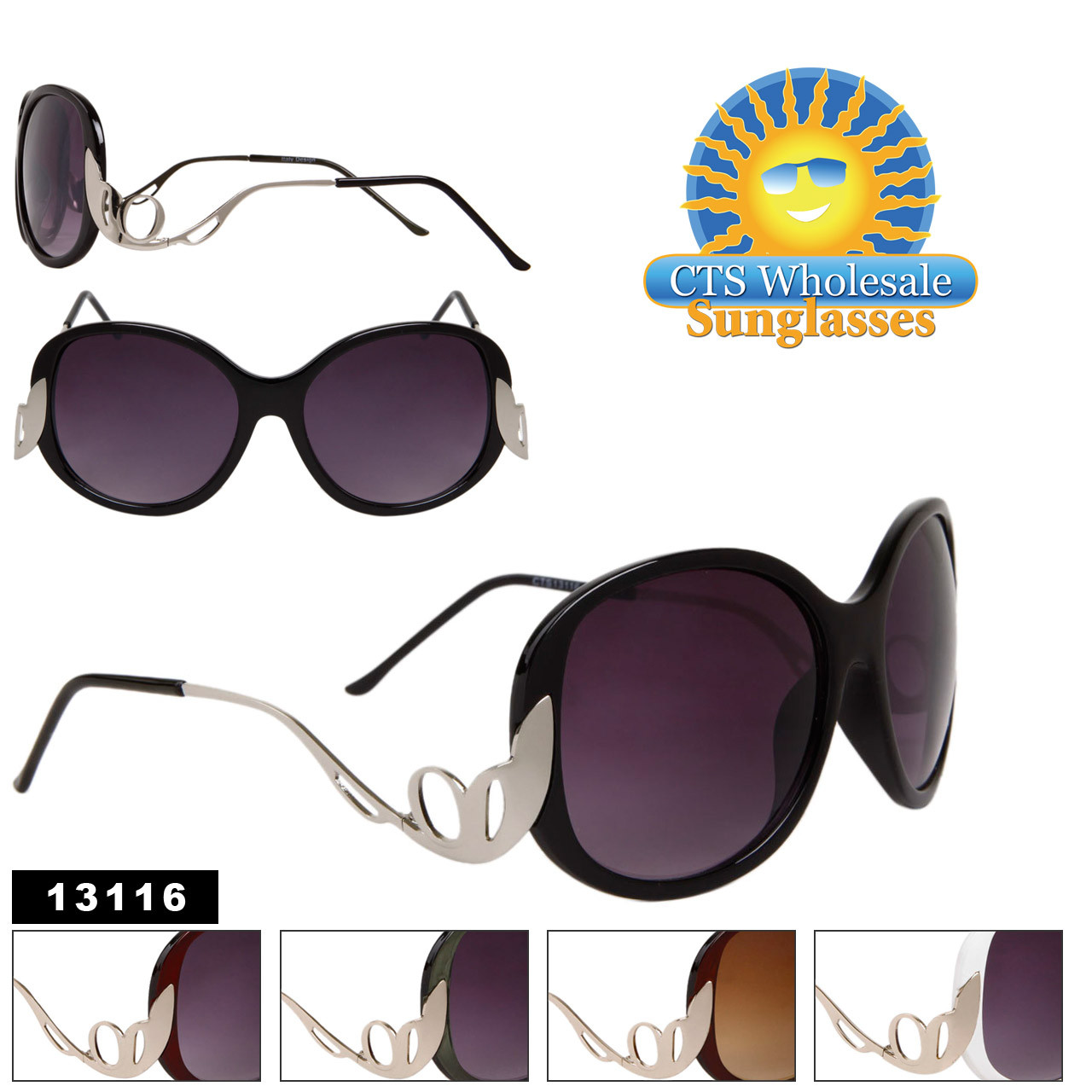 13116 Elegant Fashion Sunglasses