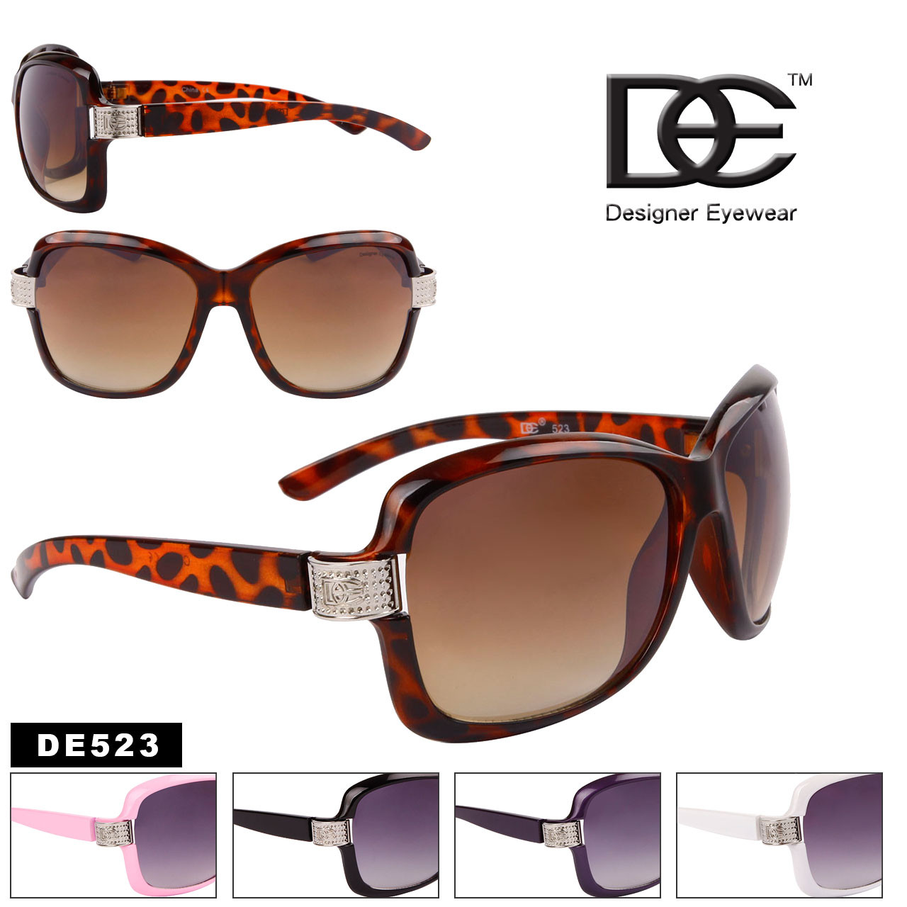 DE Designer Eyewear by the Dozen Style #DE523