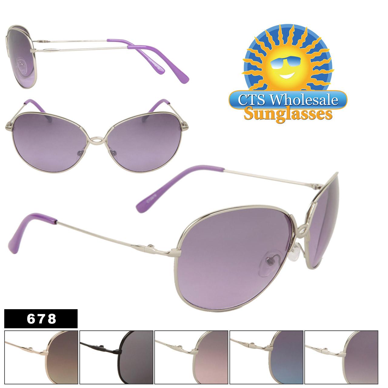 Wholesale Women's Designer Sunglasses 678