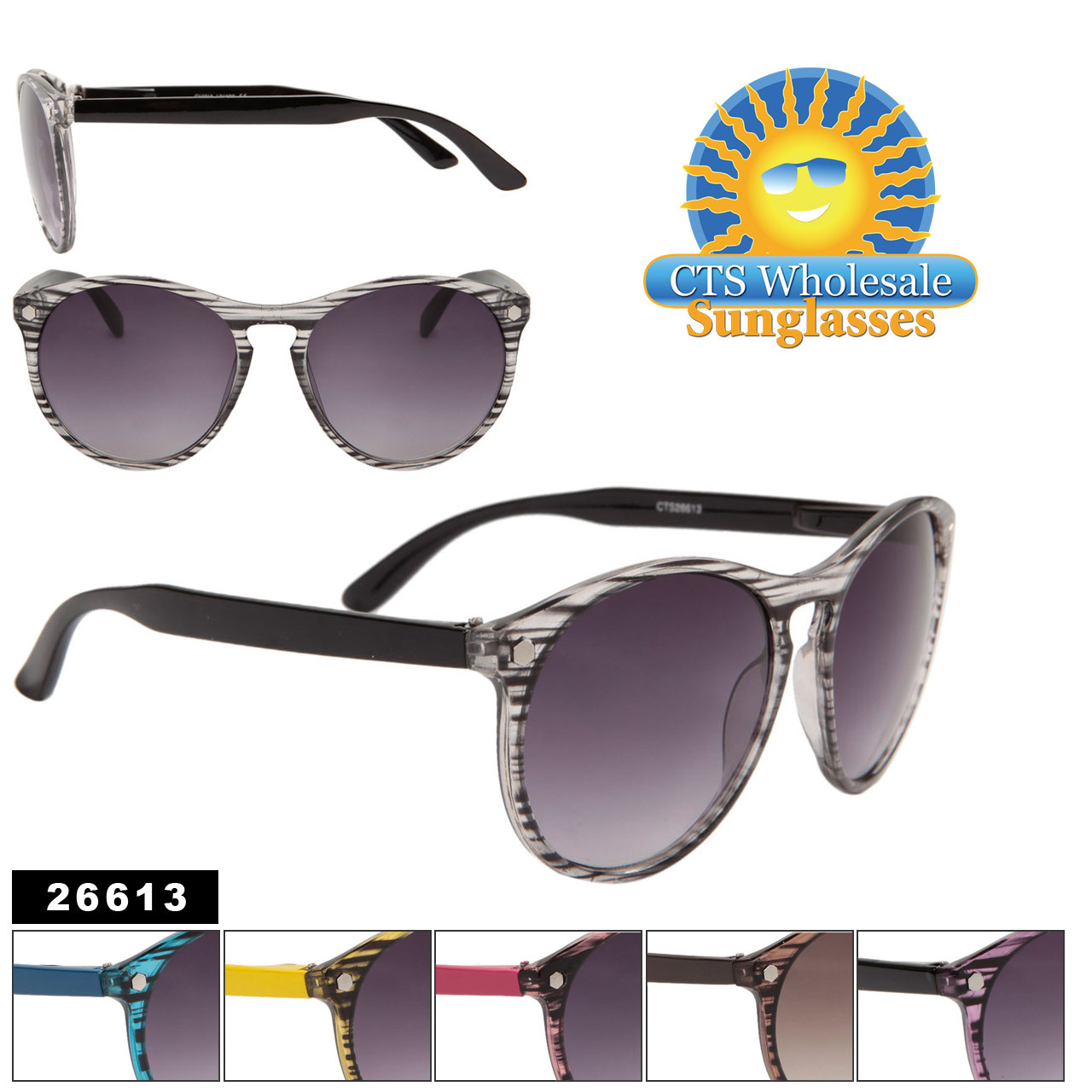 Big Frame Sunglasses in assorted colors item # 26613