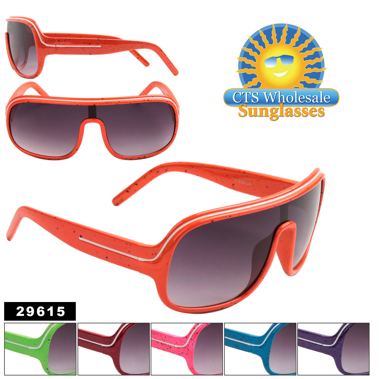Splatter Paint Sunglasses 29615