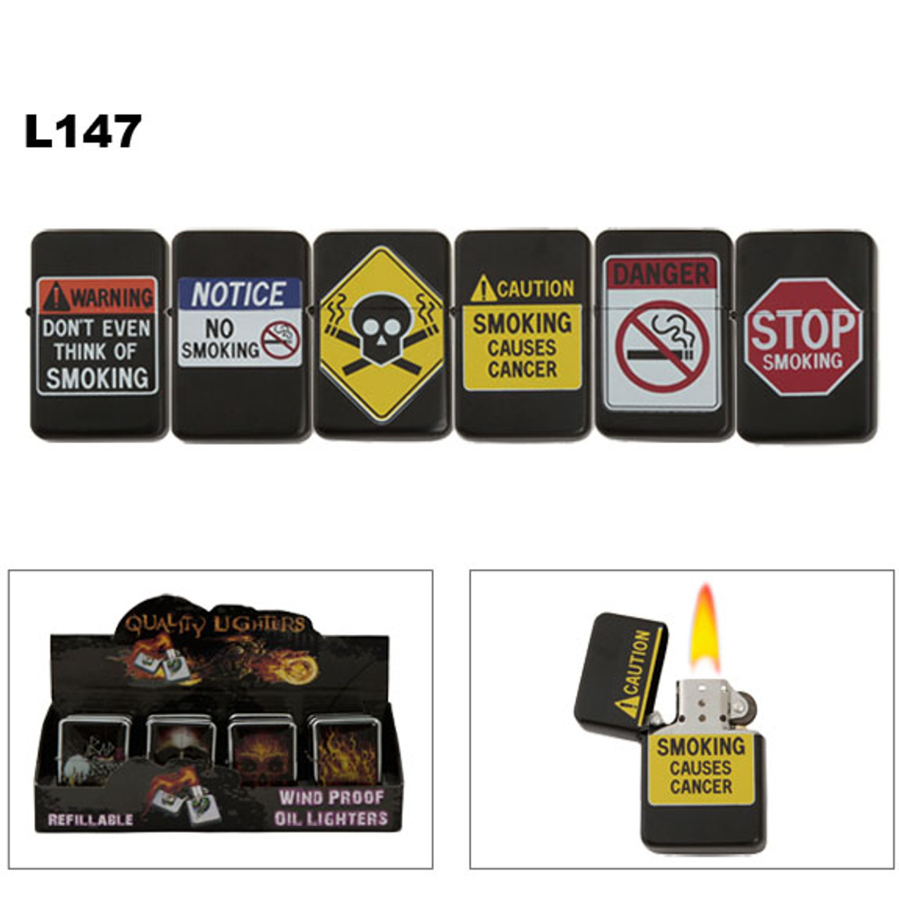 Oil Lighters | Stop Smoking