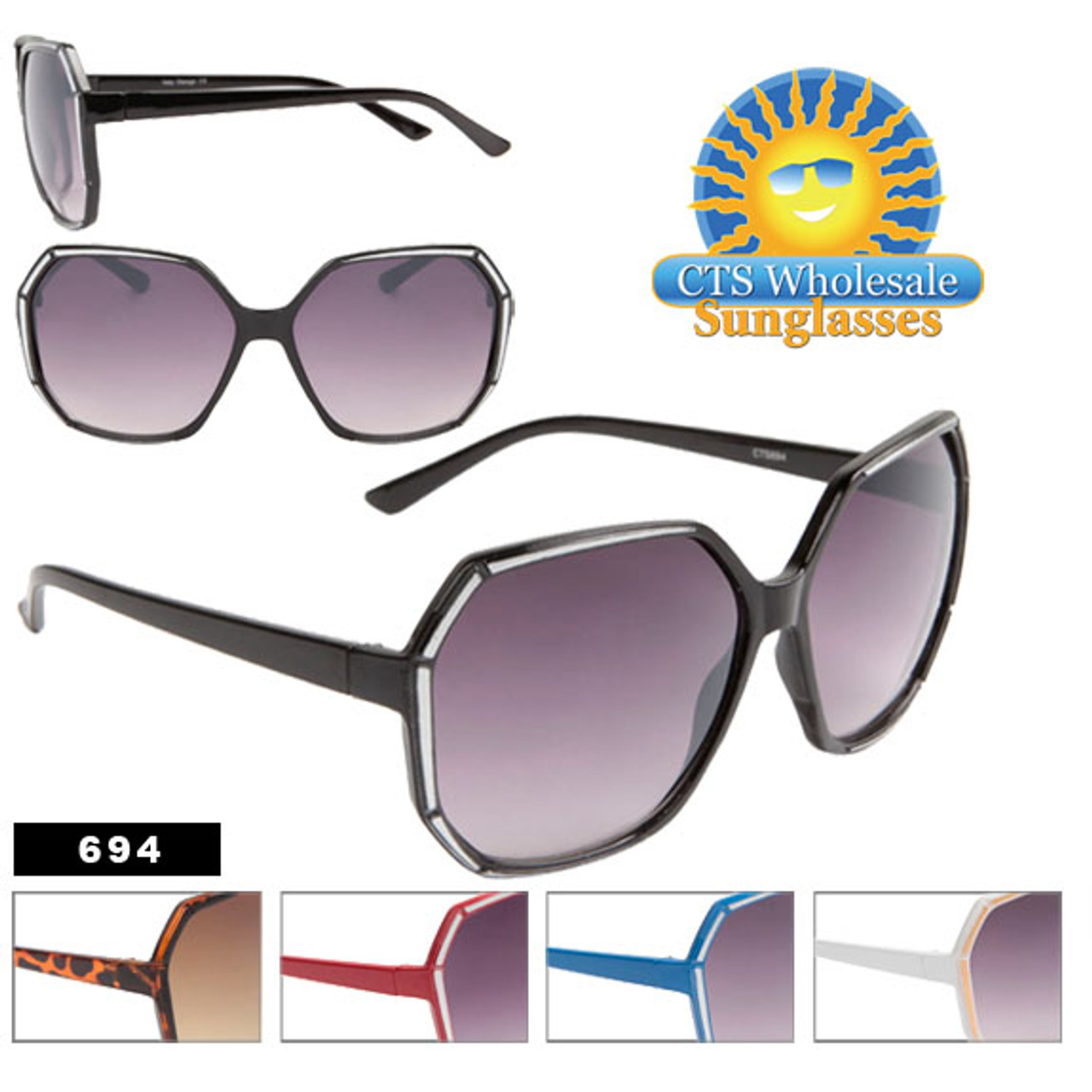 Square Retro Sunglasses!