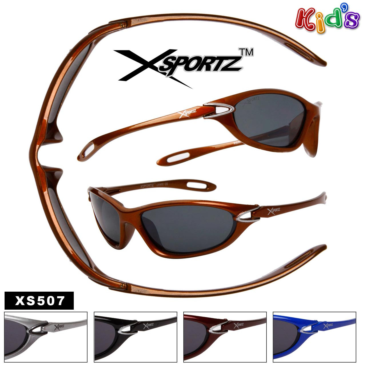 Xsportz™ Sport Sunglasses for Kids XS502