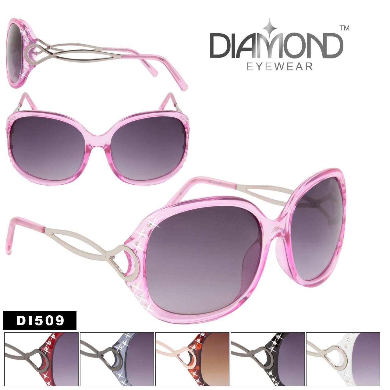 Designer Rhinestone Sunglasses DI509