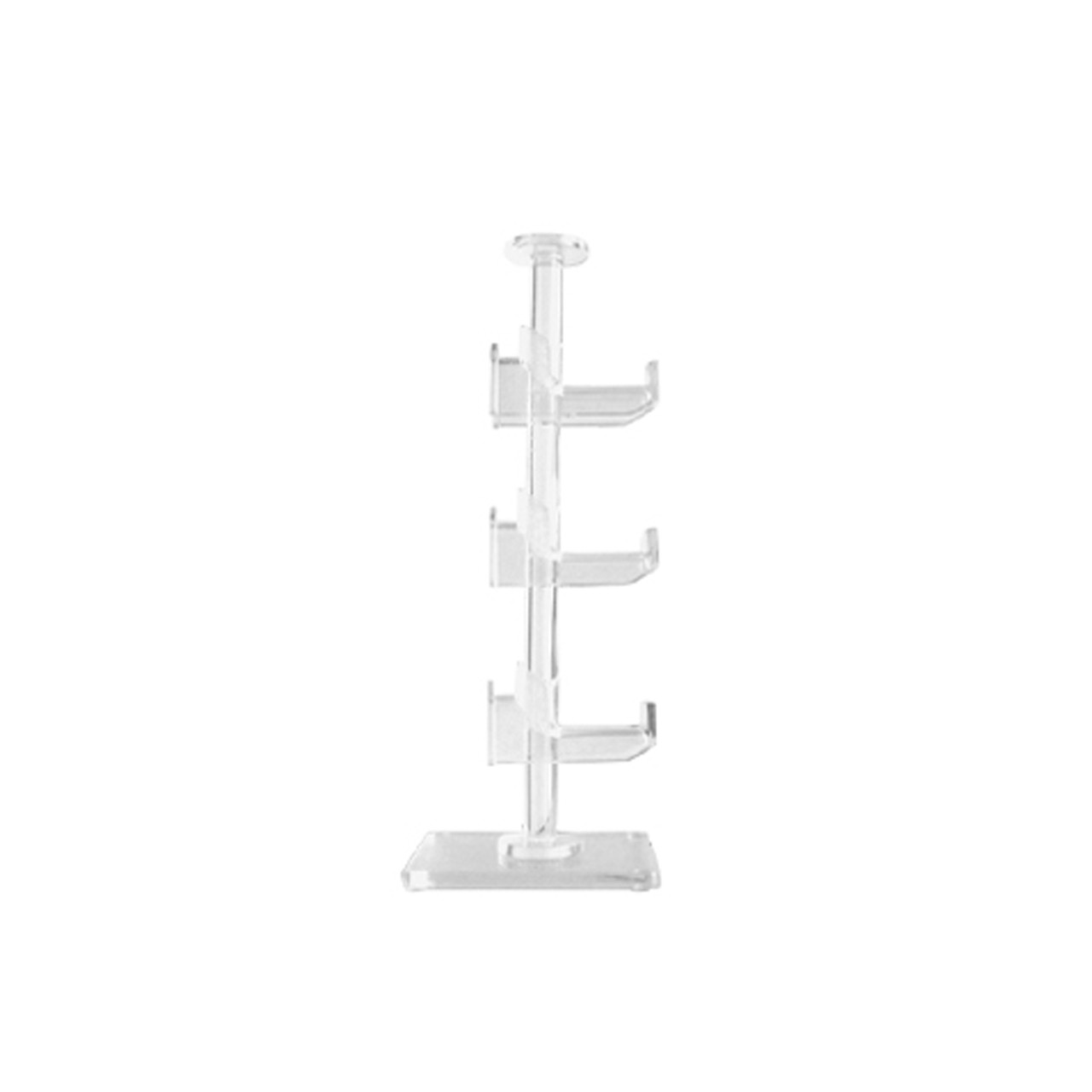 Clear Acrylic Display | Holds 3 Pair(s) 7054