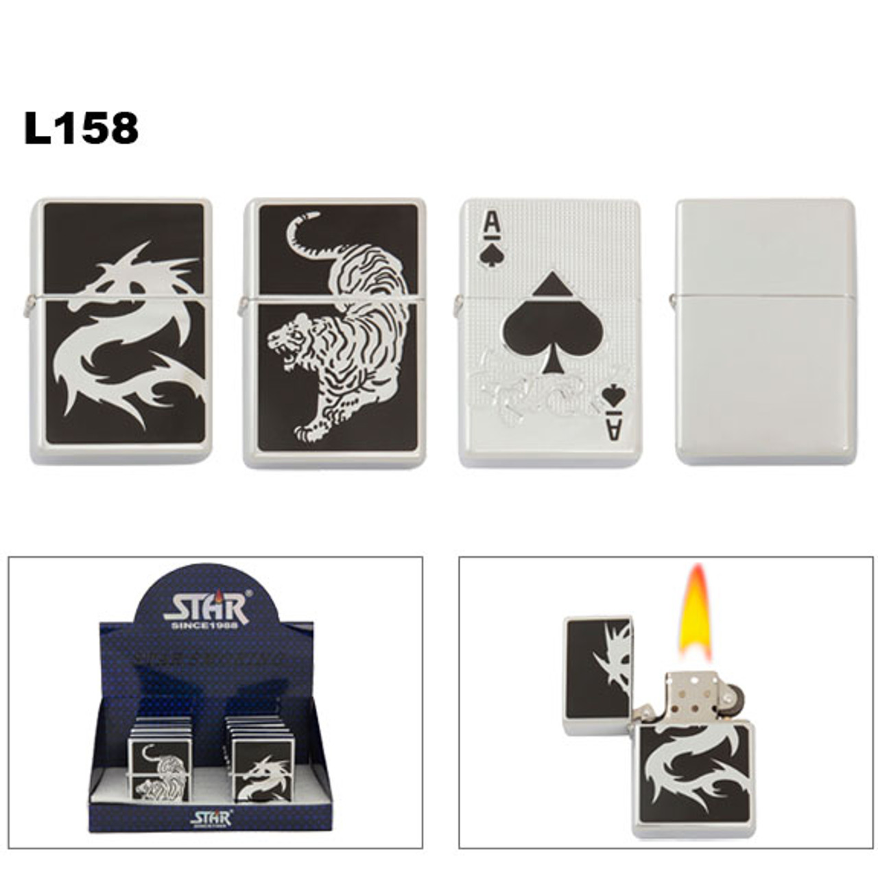 Nice Looking Jumbo Lighters