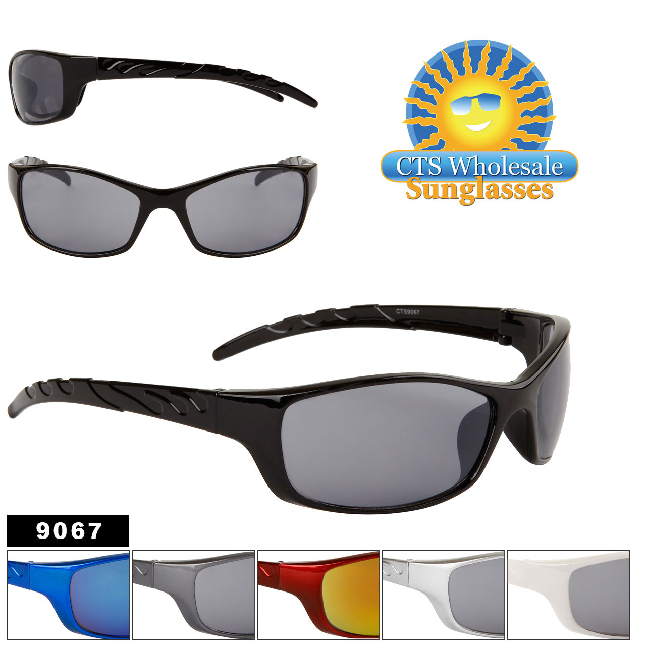 Men's Cheap Sports Sunglasses - Style #9067