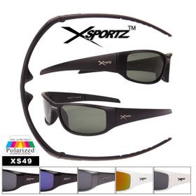 Polarized Sunglasses Xsportz™ Wholesale Sunglasses - Style XS49