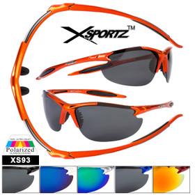 Polarized Xsportz™ Bulk Sunglasses - Style # XS93
