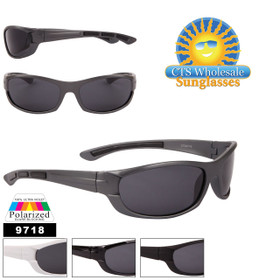 Polarized Sport Sunglasses in Bulk - Style #9718