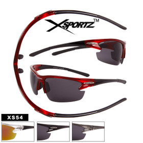 Wholesale Xsportz™ Sports Sunglasses - Style #XS54