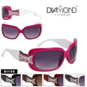 Diamond Eyewear™ Rhinestone Sunglasses DE109
