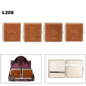 L208 Assorted Marijuana Cigarette Cases