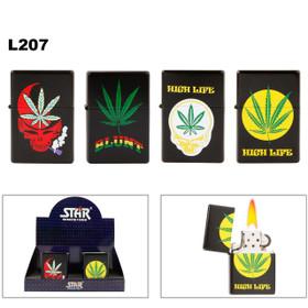 L207 Jumbo Pot Leaf Lighters