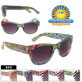Fashion Sunglasses by the Dozen - Style #805