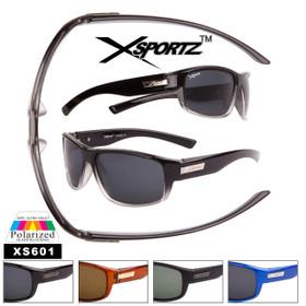 Full Wrap Around Frame Polarized Sport Sunglasses - Style #XS601