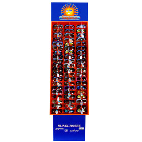 Cardboard Sunglasses Display Holds 60 Pairs 7003