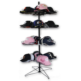High Capacity Hat Display Stand D9001